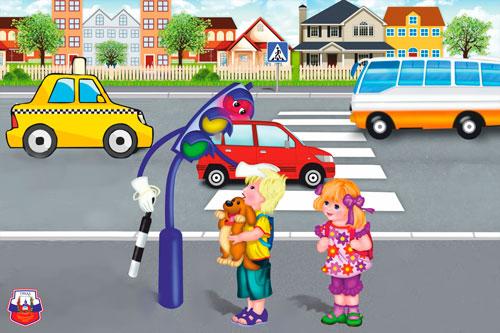 Интересные загадки про светофор для детей 5-7 лет