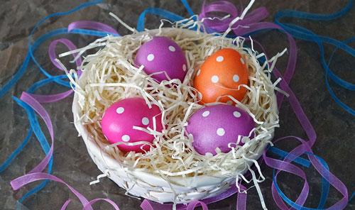 Красим яйца на Пасху: оригинальные идеи с фото 3