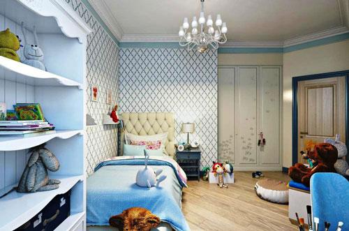 классическая детская комната для мальчика 6 лет
