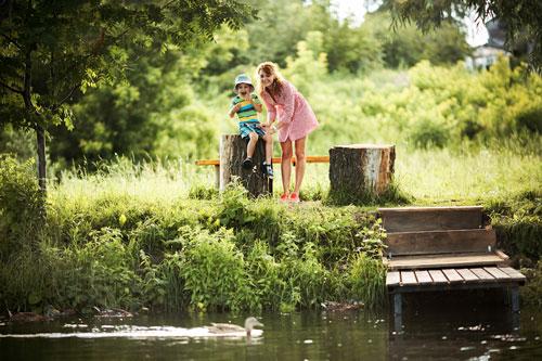 Семейная фотосессия летом: интересные идеи