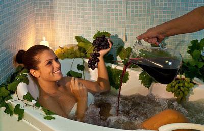Ванны для похудения в домашних условиях с вином