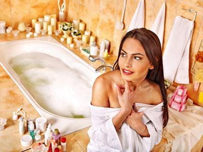 подготовка к ванне для похудания