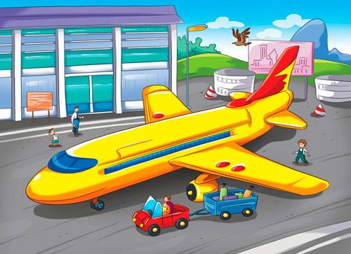 Детские загадки про самолет с ответами