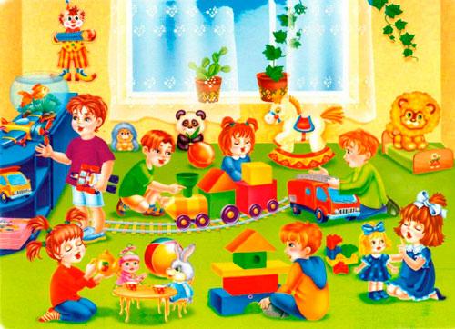 Интересные загадки для детей про детский сад с ответами для детей 3-5 лет