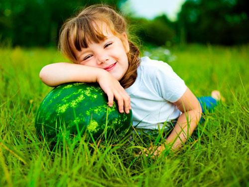 Загадки про арбуз для детей с ответами