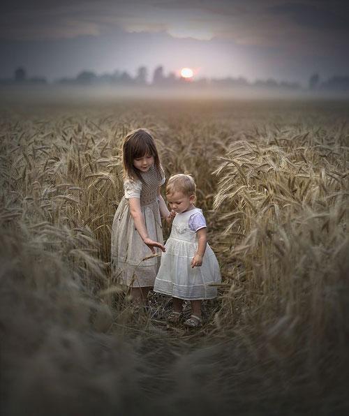 сестренки на фото