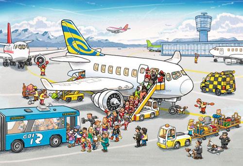 Загадки про самолет для детей с ответами