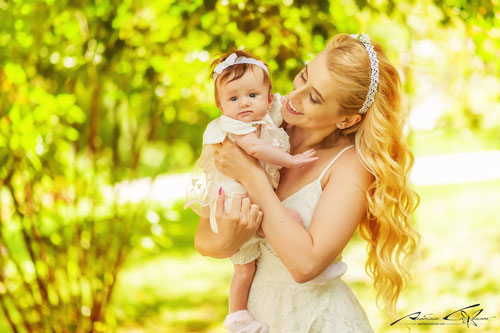 идеи для летней фотосессии для мамы и дочки 2