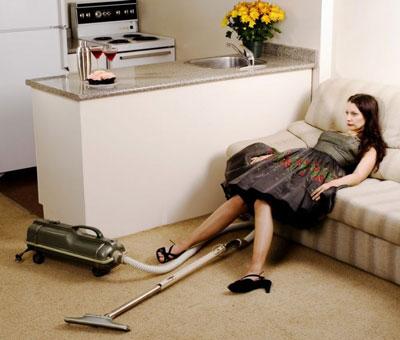 Как заставить себя убраться в квартире, если очень устала