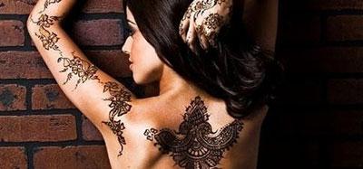 Татуировка хной в домашних условиях летом