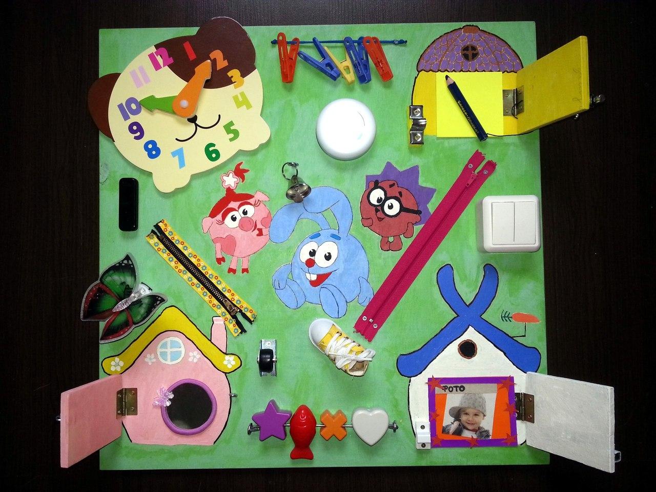 Лучшие идеи бизиборда для детей