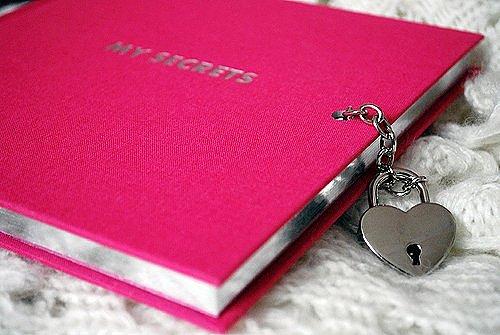 замок на личном дневнике