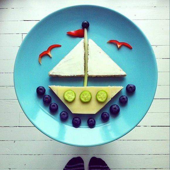 вкусный кораблик