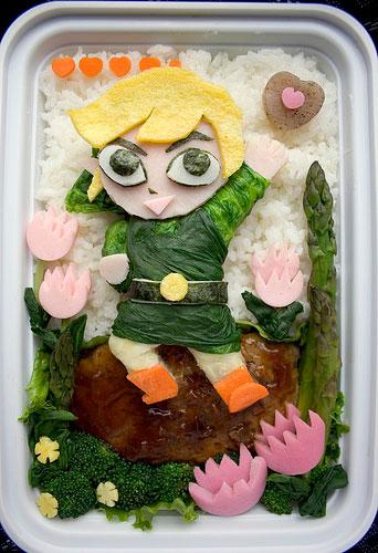 как красиво оформить блюда для ребенка 5-7 лет