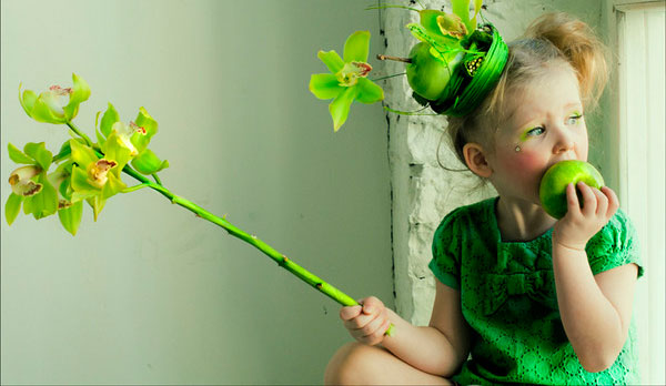 Детские стихи про зеленый цвет