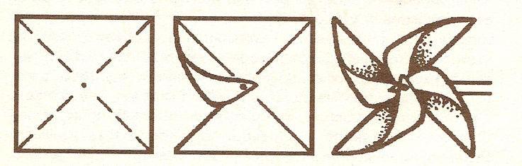 поделка вертушка ветерок