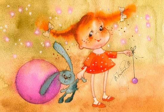 короткие стихи про игрушки для малышей
