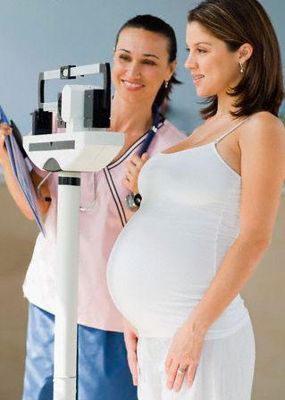 как следить за весом беременной