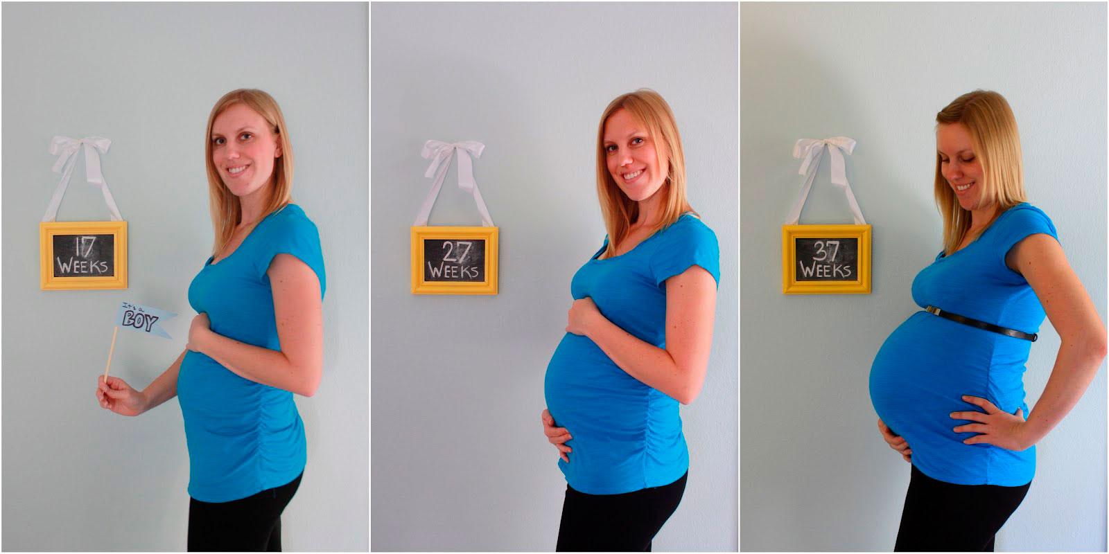 Как сбросить вес в третьем триместре беременности