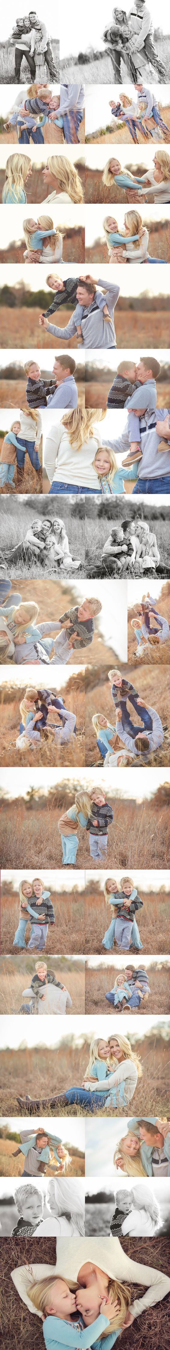 осенняя фотосессия всей семьей