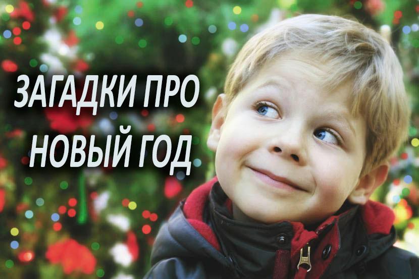 Загадки про новый год с ответами для детей 5-6 лет