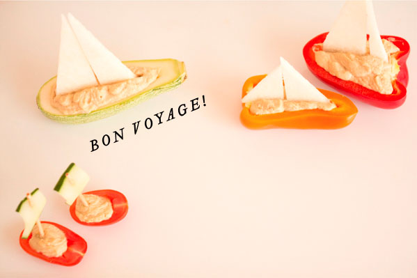 сервировка блюда из овощей