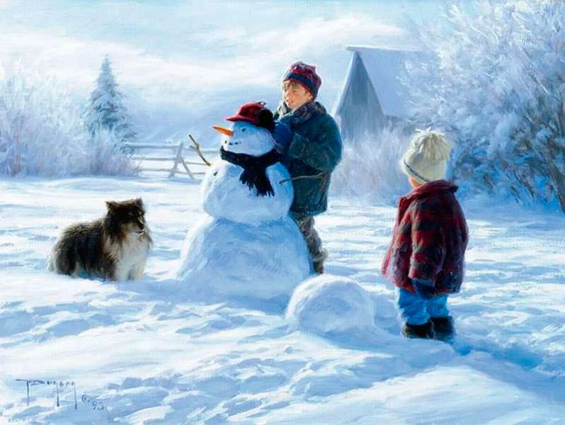 красивые зимние стихи для детей 4-5 лет