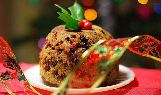 рождественский рисовый пудинг