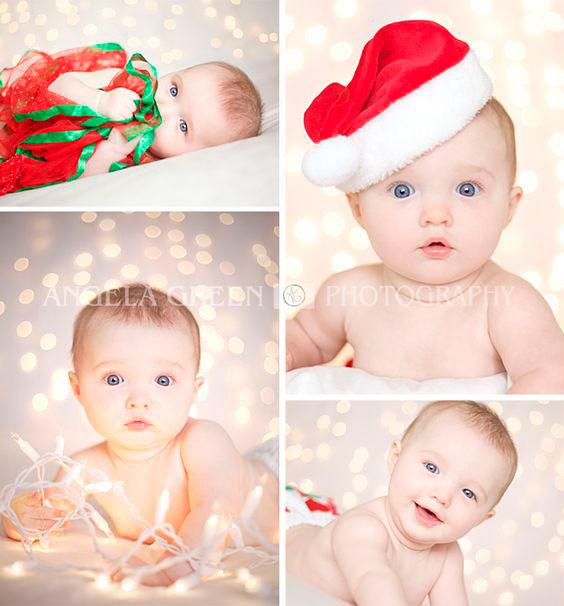 фото малышей на Новый год