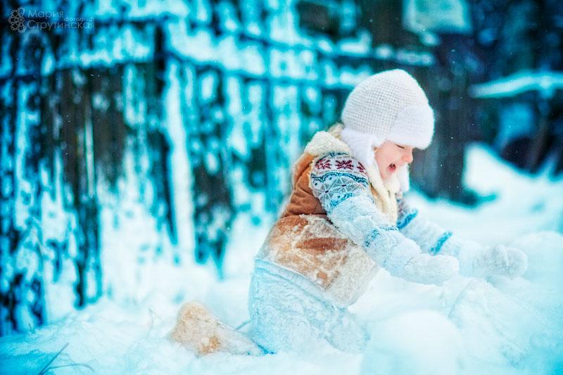 детские стихи про зиму для дошкольников
