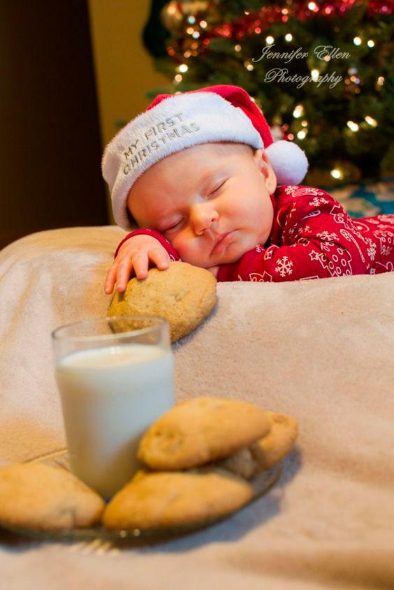 малыш на Рождество