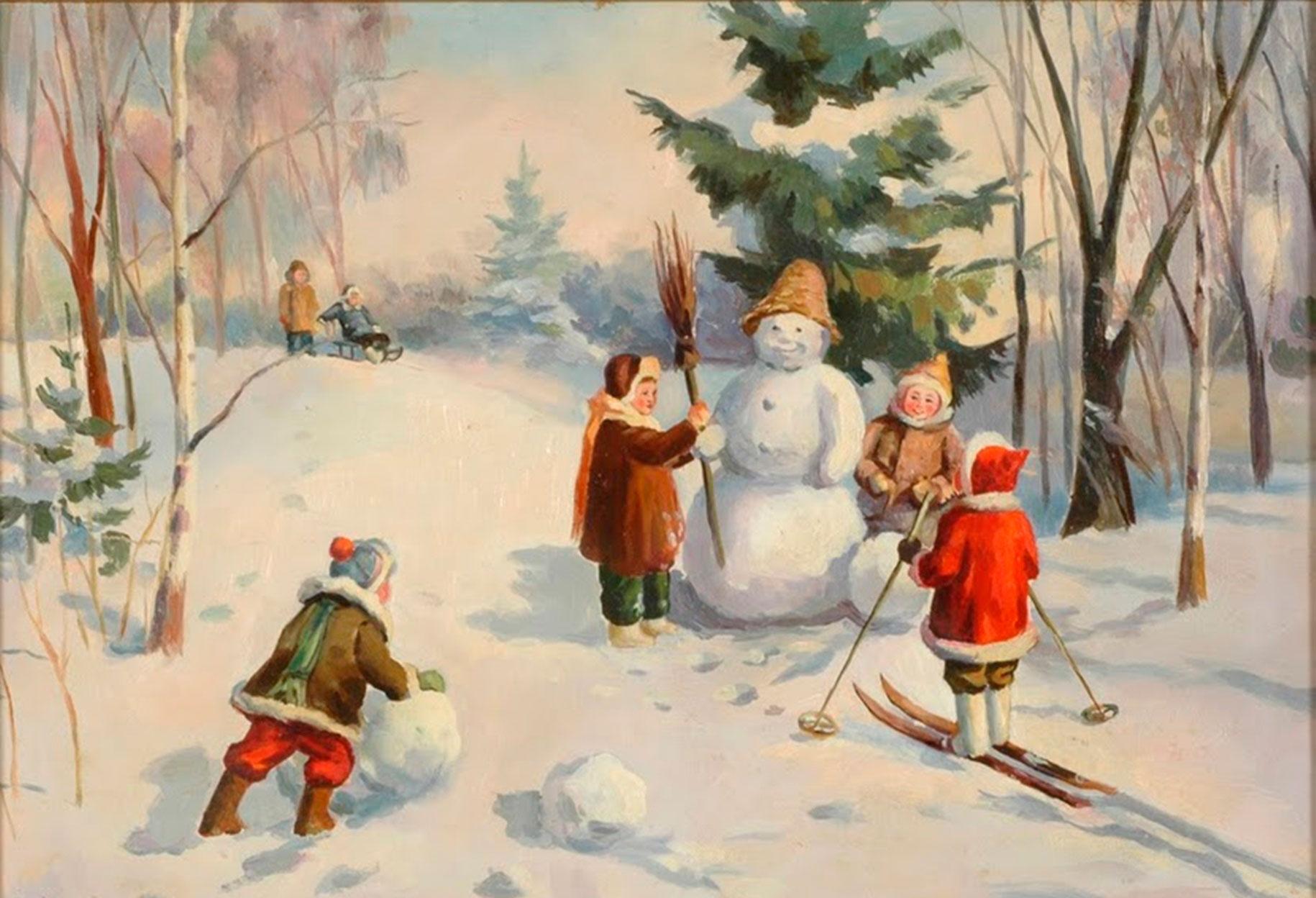 Загадки про зиму для детей 4-5 лет и взрослых