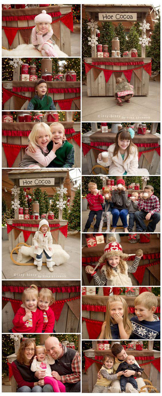 идеи для новогодней фотосессии всей семьей