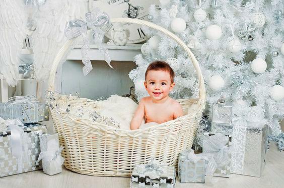 новогодняя фотосессия для малыша
