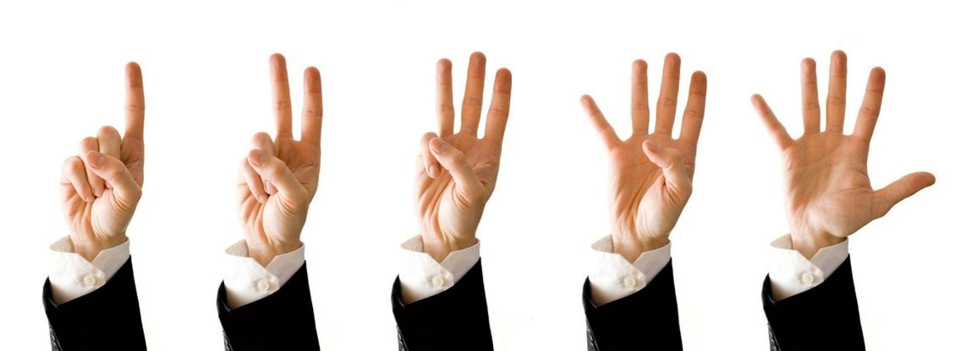 Как подводить итоги дня по методу пяти пальцев для женщин