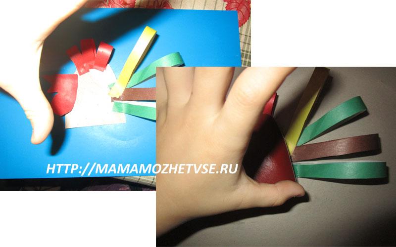 мастер класс по изготовлению детской поделки петушка из цветной бумаги