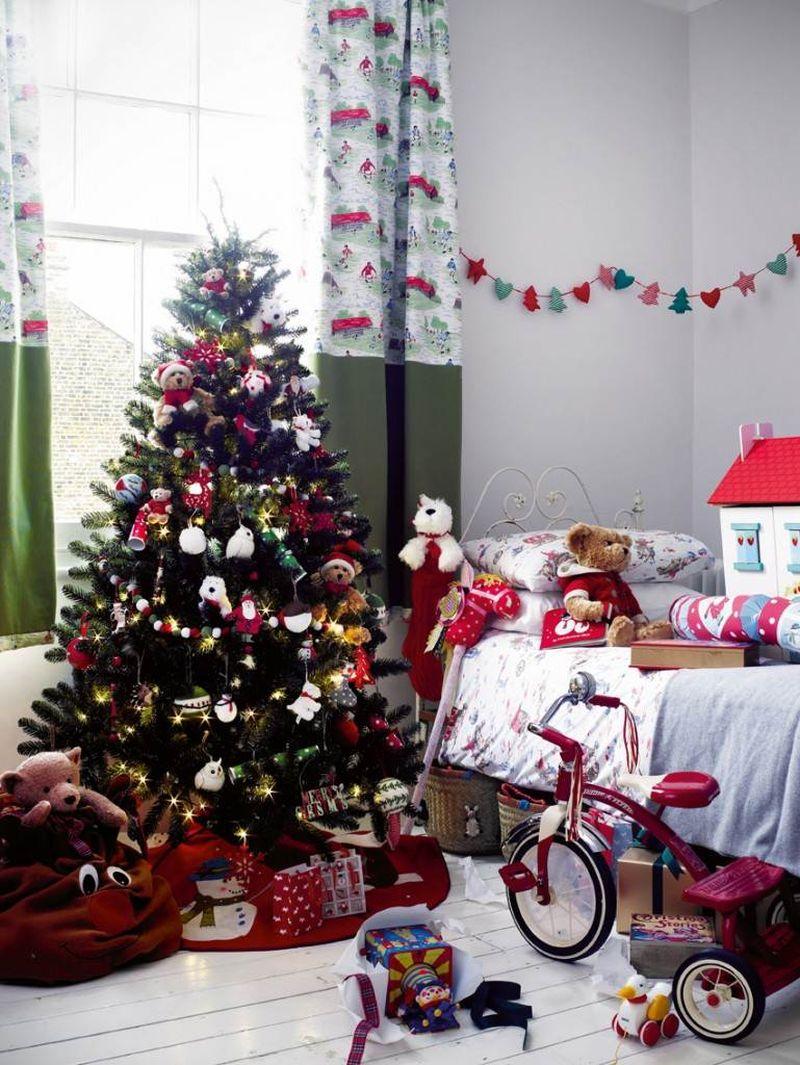 рождественская детская комната