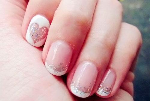 Идеи маникюра гель лаком на короткие ногти 2