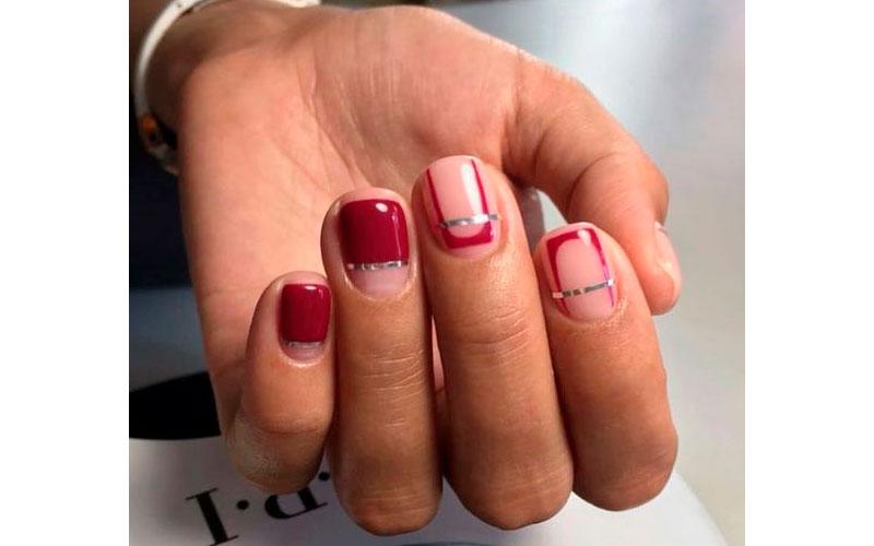 идея маникюра на короткие ногти