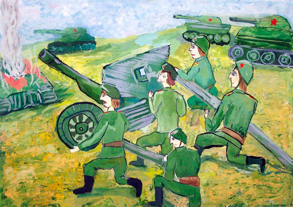 Картинки рисунки великой отечественной войне