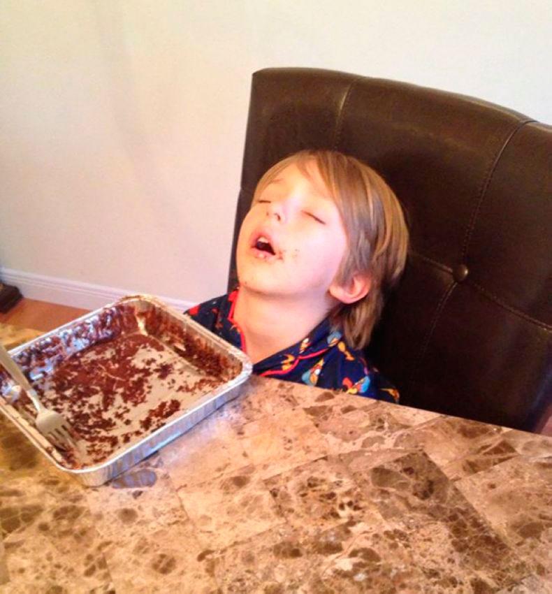 дети смешно спят 3