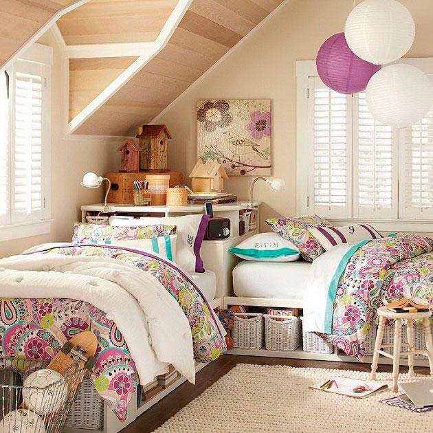 Детская фиолетовая комната фото 4