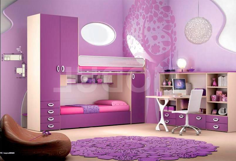 фиолетовая детская 1