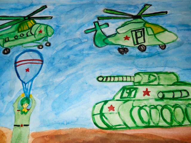 Загадки про войну, военные профессии