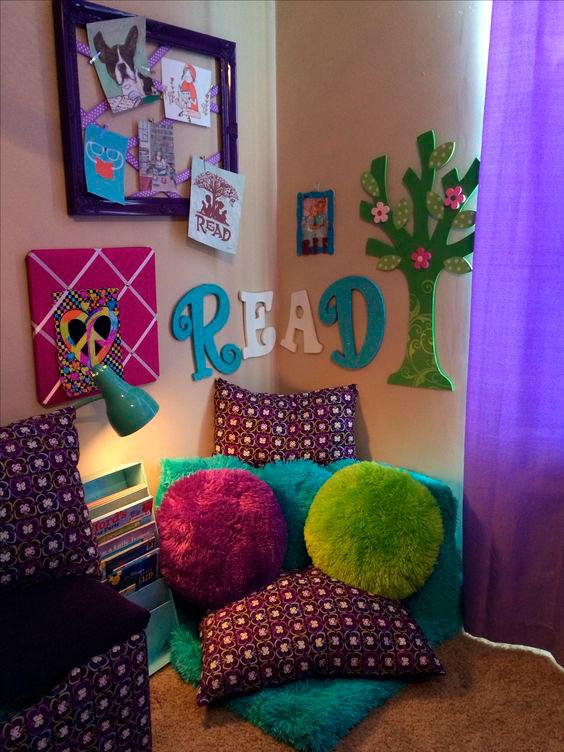 Детская фиолетовая комната фото 3