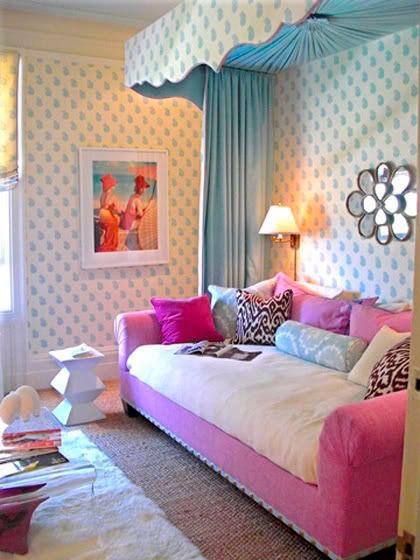 фотография фиолетовой комнаты ребенка 8