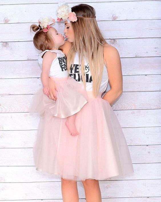 Мама и дочка 1
