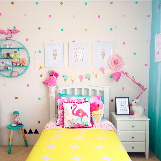 фото фиолетовой детской комнаты 5