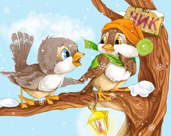 стихи про воробьев и других птиц для детей