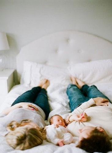 идеи для фотосессии новорожденных 2